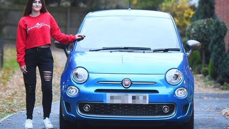 Kim Sale, who lost her leg to cancer passed her driving test a year early - but now her car may be w