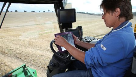 On-farm technology in action. Picture: AGRI-TECH EAST
