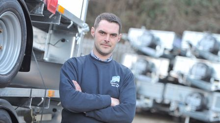 Nick Ruffle, owner of Agroco. Picture: SARAH LUCY BROWN