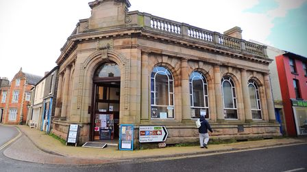 The Bank arts centre in Eye which will benefit from an auction next week. Picture: GREGG BROWN