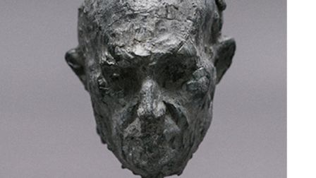 Grey Head by Laurence Edwards - the star lot in the auction for The Bank in Eye. Picture: TW GAZE