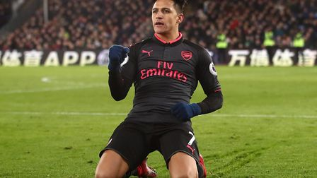 Big bucks, Alexis Sanchez, who has moved to Manchester United