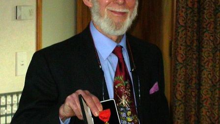 Bill Sykes was awarded the NZ Order of Merit in 2005 for services to botany. Picture: MANAAKI WHENUA