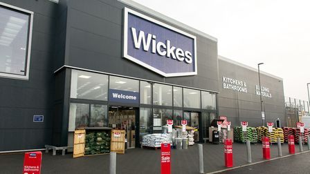The new Wickes store in Martlesham Heath. Picture: WICKES