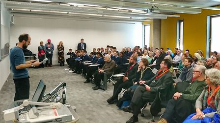 The University of Suffolk holds a talk the Holocaust and the 'Power of Words'. Picture: UOS