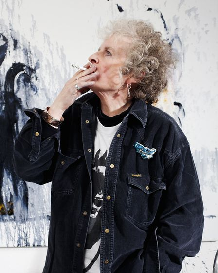 Artist Maggi Hambling in her studio. Picture: ARCHANT LIBRARY