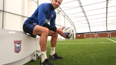 Tommy Smith could say a farewell to Ipswich fans on the pitch this weekend : RICHARD MARSHAM/RMG PHO