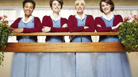 The seventh series of Call the Midwife continues tomorrow. Here we see Lucille (Leonie Elliot), Vale