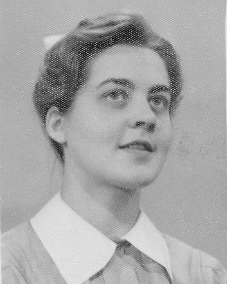 Jennifer Worth in her nursing days. Picture: ARCHANT ARCHIVE