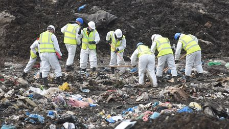 The Milton landfill site in Cambridgeshire was searched as part of the Corrie McKeague missing perso