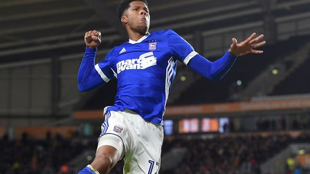 Jordan Spence thinks Town have to get better at Portman Road. Picture: PAGEPIX LTD