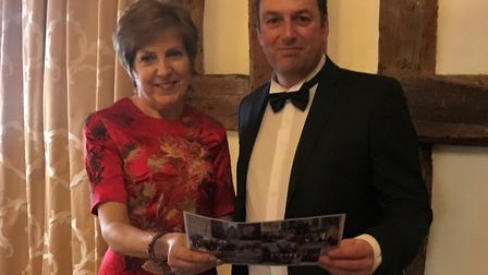 Annette Whybrow, non-executive director at TA Hotel Collection, and Gareth Carter, finance manager,