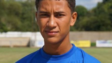 Ipswich Town are signing teenage starlet Kai Brown. Picture: GRAYS ATHLETIC