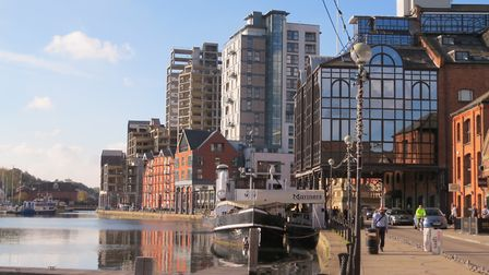 Improvements to the entrance of Ipswich Waterfront are included. Picture: KEITH HUDSON