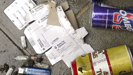 Community protection notices were issued for behaviour involving drink and drugs. Picture: ARCHANT L
