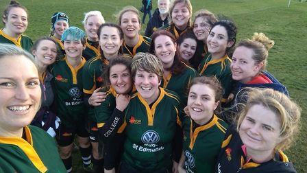 The Bury Foxes after their win at Southwold. Picture: BURY FOXES