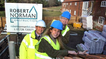 The Chillesford Lodge Victorian model farm conversion project is providing new homes in a rural sett