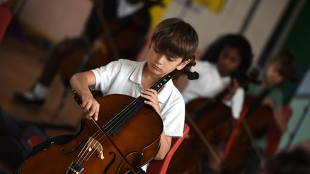 Sidegate Primary School's Festival of Arts is one way Suffolk schools have championed creative subje