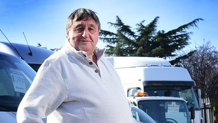 Peter Colby of Peter Colby Commercials. Picture: ANTONY KELLY