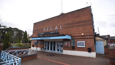 The Regal Theatre is set for a million-pound revamp to get two new screens. Picture: GREGG BROWN