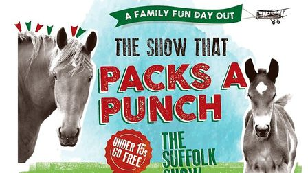 Suffolk Show organisers are challenging the public to name their two Suffolk Punch poster stars. Pic