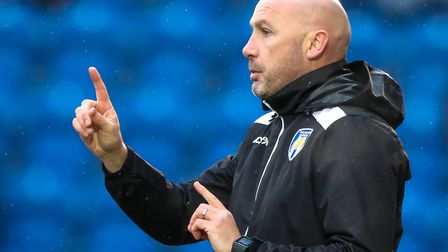 Manager John McGreal, who has completed two loan signings on transfer deadline day today. Picture: S