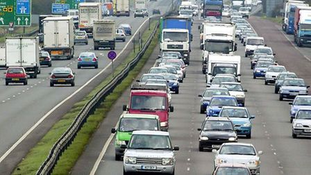 File picture of traffic on the M11. Picture: CONTRIBUTED