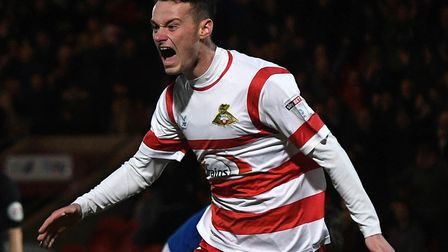 Liam Mandeville, signed by the U's on loan from Doncaster Rovers. Picture: ANDREW ROE/AHPHIX LTD