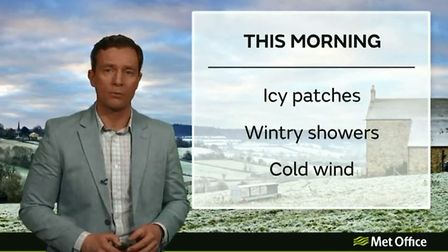 Cold and breezy weather on the way to our region and most of the UK