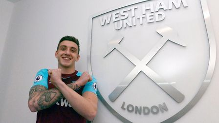 Jordan Hugill, a former Ipswich target, has left the Championship in an £8million move to West Ham.