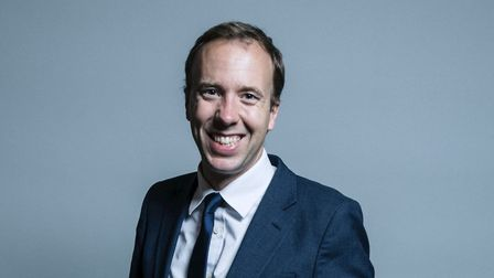 Matt Hancock (Conservative MP for West Suffolk). Picture: House of Commons