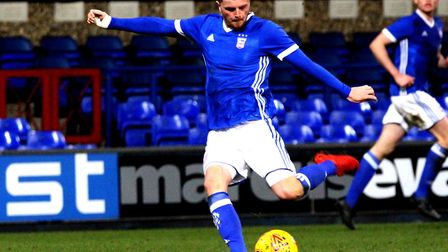 Midifielder McDonnell scored for the Shots at the weekend. Picture: ROSS HALLS
