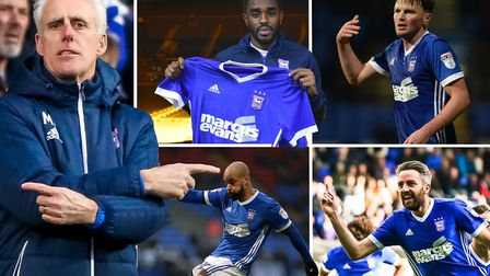 Mick McCarthy, Mustapha Carayol, Stephen Gleeson, David McGoldrick and Cole Skuse are all out of con