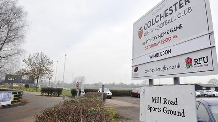 Colchester Rugby Club. Library image. Picture: SU ANDERSON