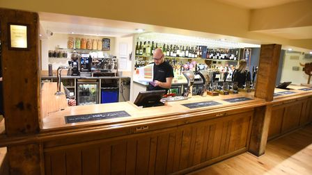 The One Bull pub in Bury St Edmunds has reopened after major fire damage. Picture: GREGG BROWN