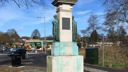 The Ouida Memorial as it looks today