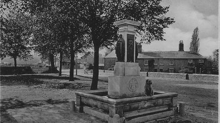 The Ouida Memorial in its heyday