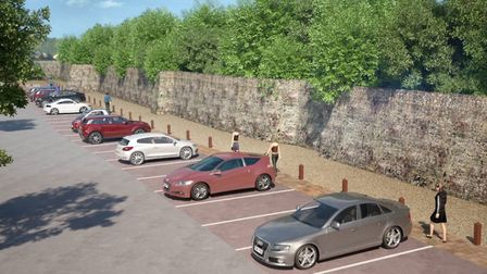 Colchester's Priory Car Park is being upgraded. Artist's Impression: COLCHESTER COUNCIL