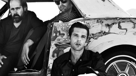 The Killers. Picture: CONTRIBUTED