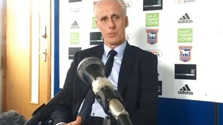 Mick McCarthy spoke to the media ahead of the game with Cardiff