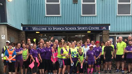 Rushmere Community Runners is a fast-growing running group. Picture: CONTRIBUTED