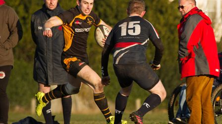 Cemil Durku scored the winning try for Southwold in their top-of-the-table clash with Stowmarket. Pi