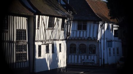 One of Lavenham's historic buildings. Picture: GREGG BROWN