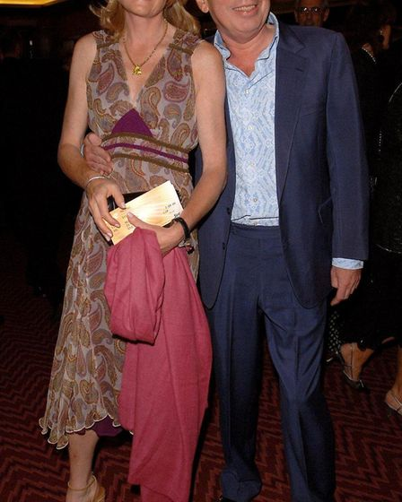 Andrew Lloyd Webber and his wife, Madeleine Gurdon. Picture: PRESS ASSOCIATION