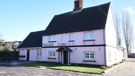 The Pinkuah Arms has closed in Pentlow. Picture: GREGG BROWN