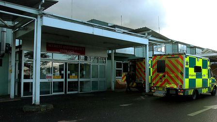 The emergency department at West Suffolk Hospital. Picture: PHIL MORLEY