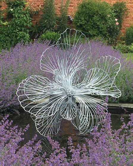 Flora Among the Flowerst, one of nature-inspired sculptures by Paul Richardson.. Photo: Paul Richard