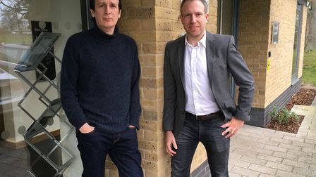 Nick Sanderson, software development director from MSX and Gavin Dobson, group head of marketing an