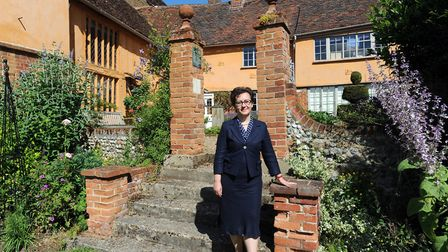 Fiona Cairns, Director of Suffolk Preservation Society is pictured in Lavenham.