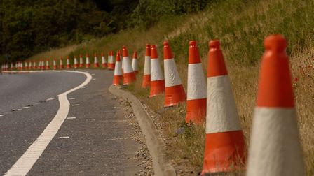 Road works and emergency repairs may affect your journey this week. Picture: SIMON FINLAY